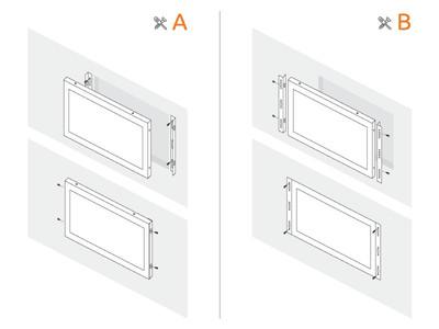 15 inch monitor metaal