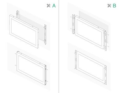 19 inch touchscreen metaal (5:4)