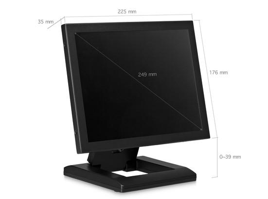 10 inch monitor metaal (4:3)