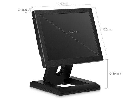8 inch monitor metaal (4:3)