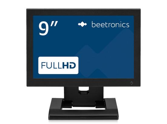 9 inch monitor metaal